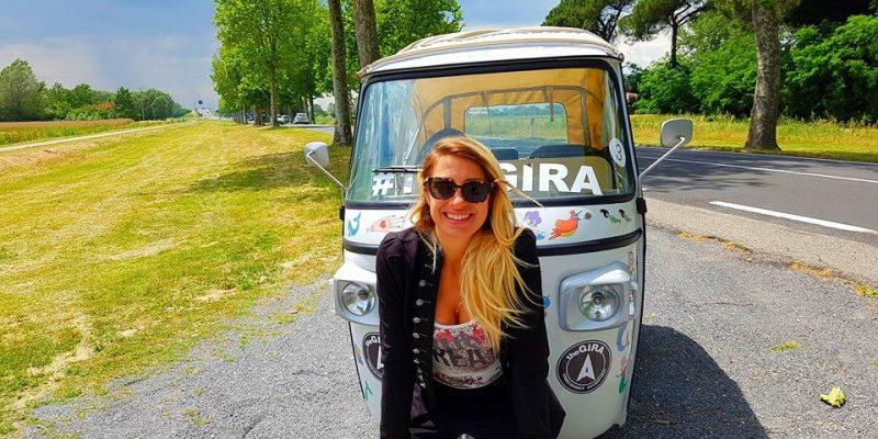 Italia on the road al femminile: il mio viaggio sull'Ape di The Gira