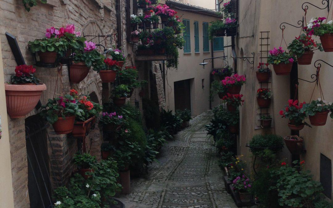 Weekend di primavera in Umbria, Fonti del Clitunno, Spello e Spoleto