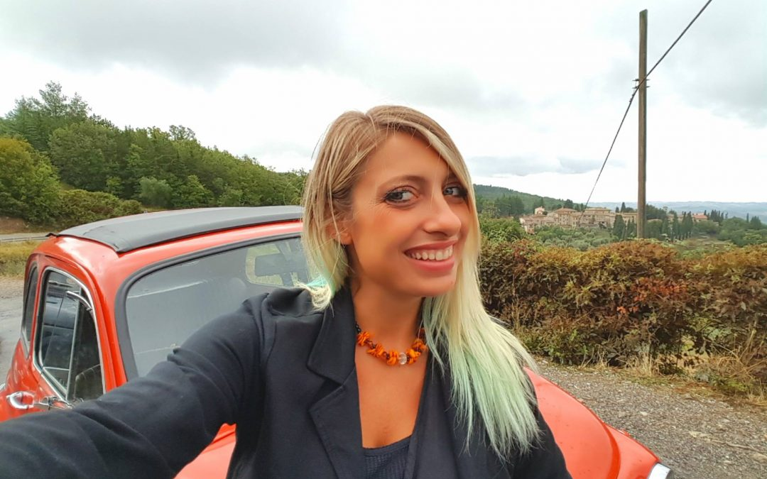 Tour tra le colline del Chianti in Fiat 500