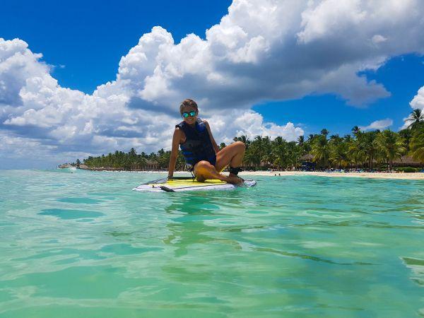 sup dominicus beach