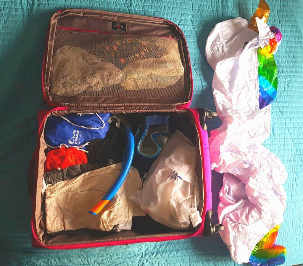 valigia per le Maldive