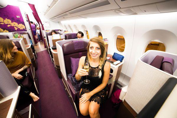 Volare in business class, la mia esperienza con Thai Airways