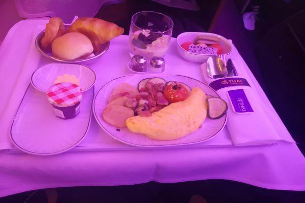 mangiare in business class