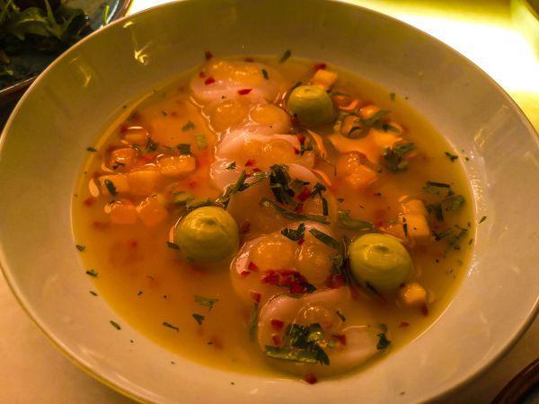 ceviche ristorante peixes nizza