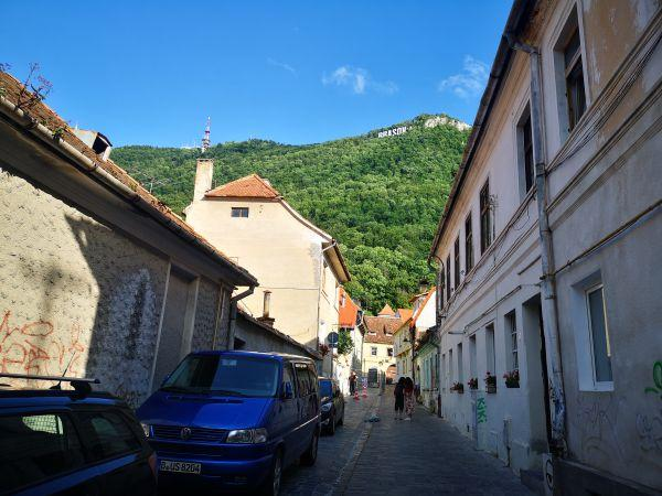 center of Brasov Transylvania