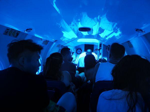 immersione sottomarino Mauritius
