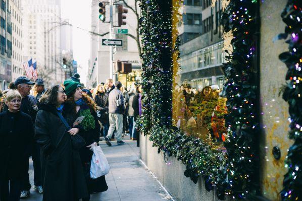 vetrine Natale New York