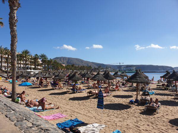 spiagge Tenerife inverno